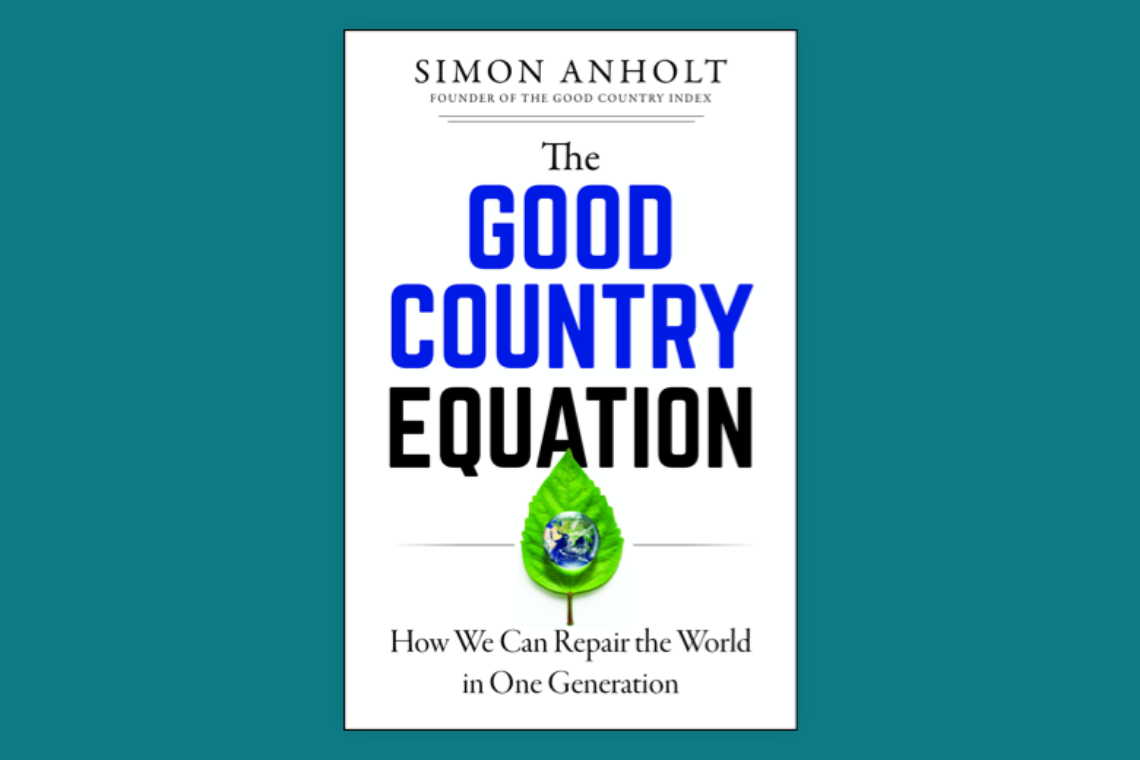 The Good Country Equation by Simon Anholt Cover image