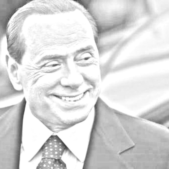 Silvio Berlusconi Shadow